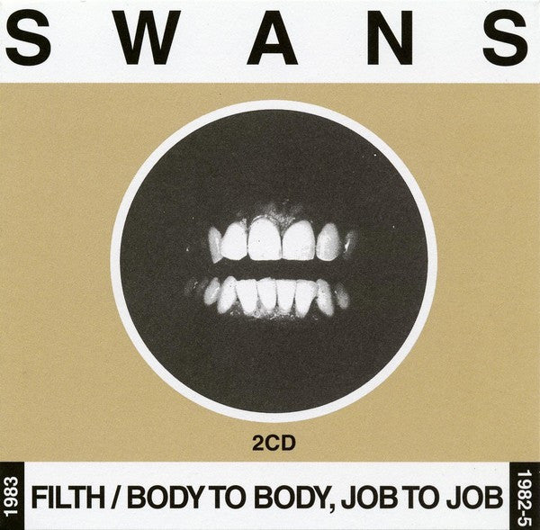 Swans - Filth / Body To Body, Job To Job (2xCD, Comp, RM) - USED