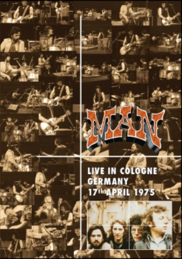 Man - Live In Cologne Germany 17th April 1975 (DVD-V, Album, PAL) - NEW