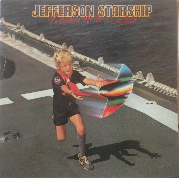 Jefferson Starship - Freedom At Point Zero (LP, Album, Ind) - USED