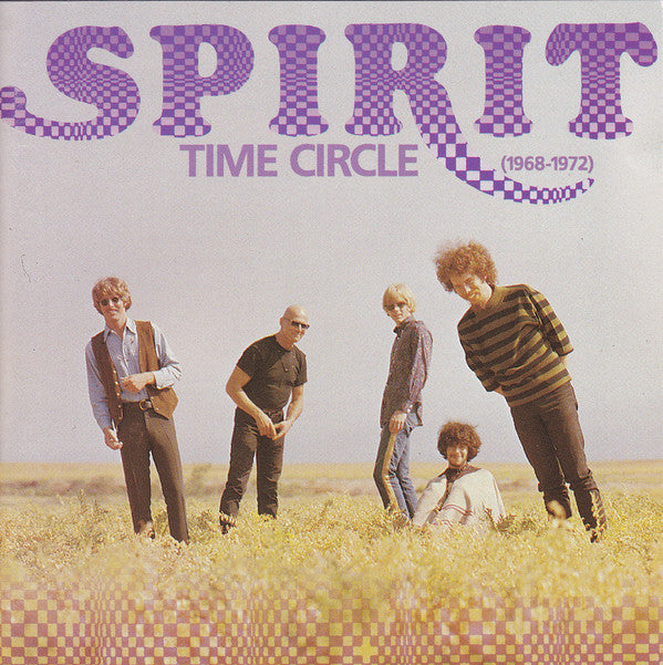 Spirit (8) - Time Circle (1968-1972) (2xCD, Comp, RM) - USED