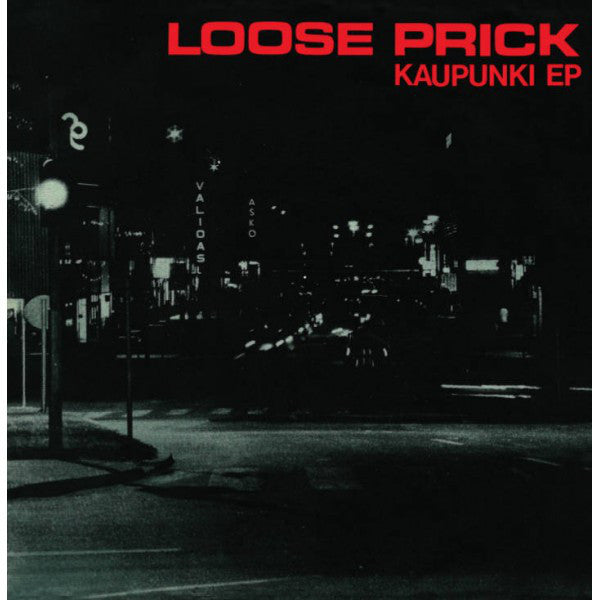 "Loose Prick - Kaupunki EP (7"", EP, Ltd, RE, Whi) - USED"