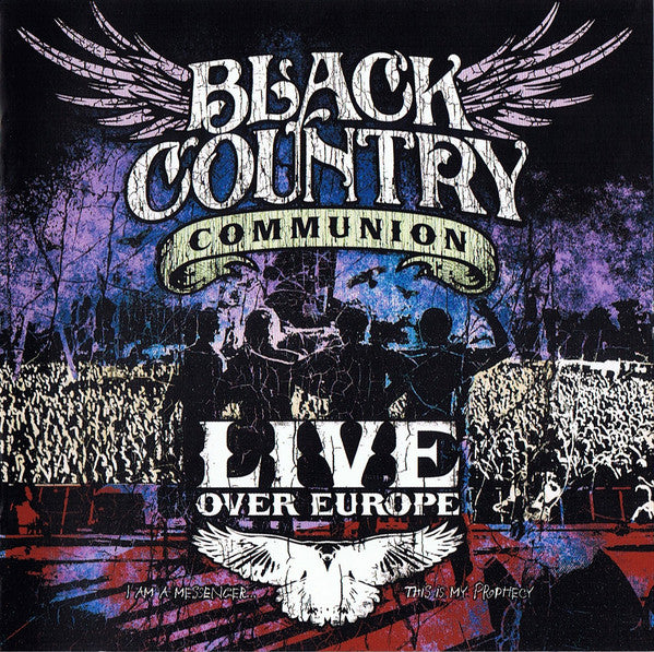 Black Country Communion - Live Over Europe (2xCD, Album) - NEW
