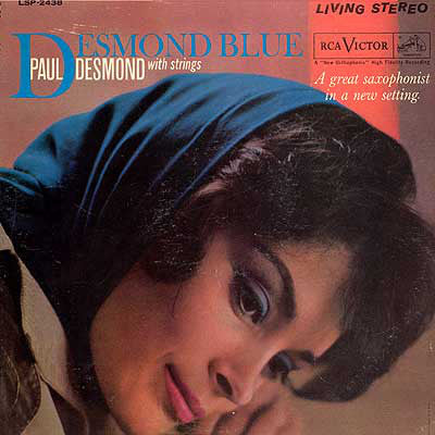 Paul Desmond With Strings - Desmond Blue (LP, Album, Ind) - USED