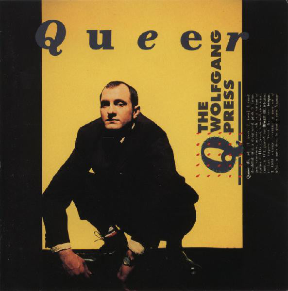 The Wolfgang Press - Queer (CD, Album) - USED
