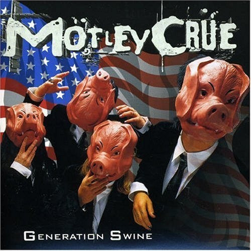 Mötley Crüe - Generation Swine (CD, Album, Enh, RM, RP) - USED