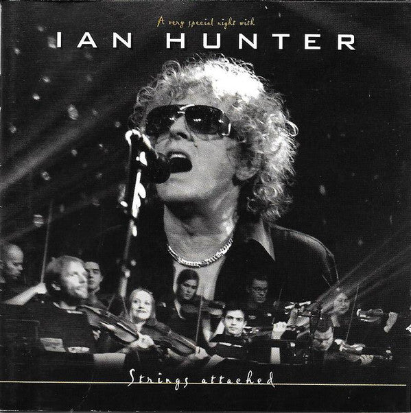 Ian Hunter - Strings Attached - A Very Special Night  With Ian Hunter (2xCD, Album) - USED