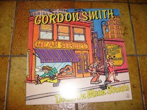 Gordon Smith - Down On Mean Streets (LP) - USED
