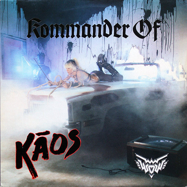 Wendy O. Williams - Kommander Of Kaos (LP, Album) - USED