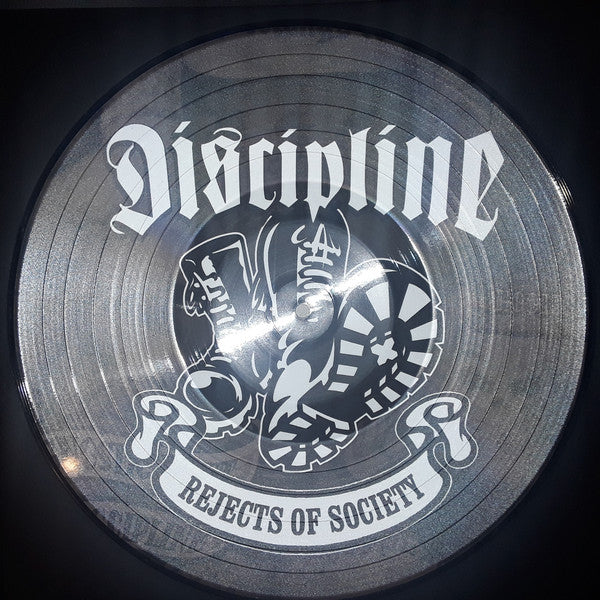 Discipline (5) - Rejects Of Society (LP, Comp, Pic, RE) - USED