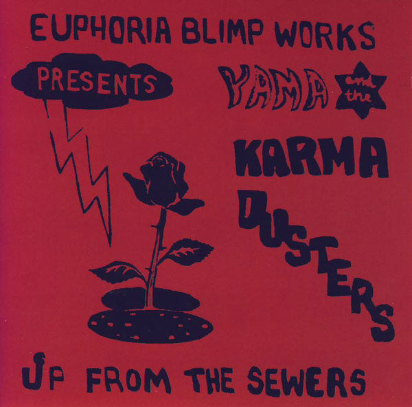 Yama And The Karma Dusters - Up From The Sewers (CD, Album, Bon) - USED