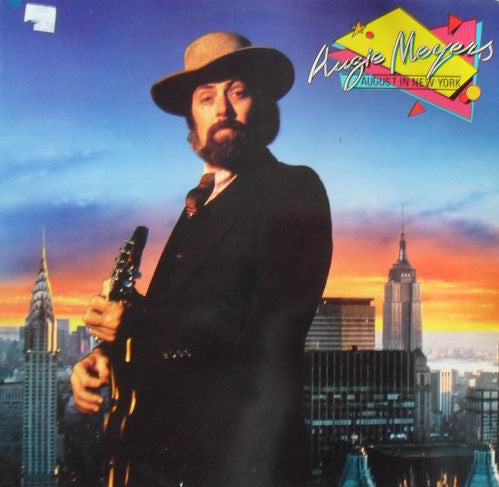 Augie Meyers - August In New York (LP) - USED