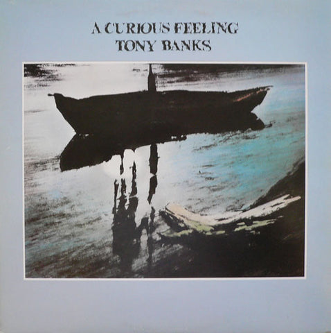 Tony Banks - A Curious Feeling (LP, Album) - USED
