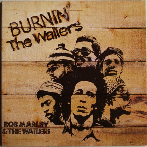 The Wailers - Burnin' (LP, Album, Gat) - USED