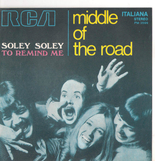 "Middle Of The Road - Soley Soley (7"", Single) - USED"