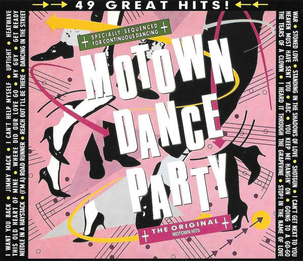 Various - Motown Dance Party (2xCD, Comp) - USED