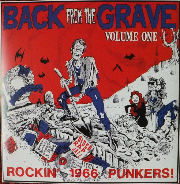 Various - Back From The Grave Volume One (LP, Comp, RP, Gat) - NEW