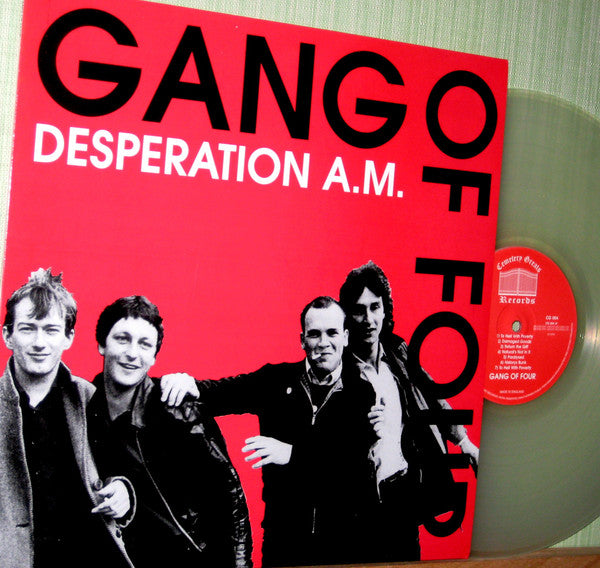 Gang Of Four - Desperation A.M. (LP, Comp, Ltd, Unofficial, Cle) - USED