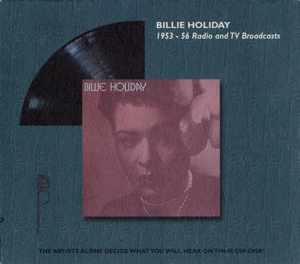 Billie Holiday - 1953-56 Radio And TV Broadcasts (CD, Album, RE) - NEW