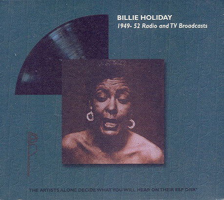 Billie Holiday - 1949-52 Radio And TV Broadcasts (CD, Album, RE) - USED