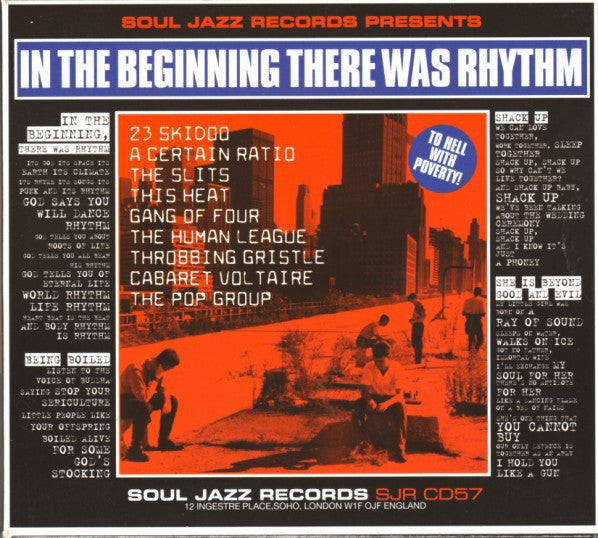 Various - In The Beginning There Was Rhythm (CD, Comp) - USED