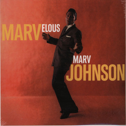 Marv Johnson - Marvelous Marv Johnson (LP, Album, Mono, RE) - USED