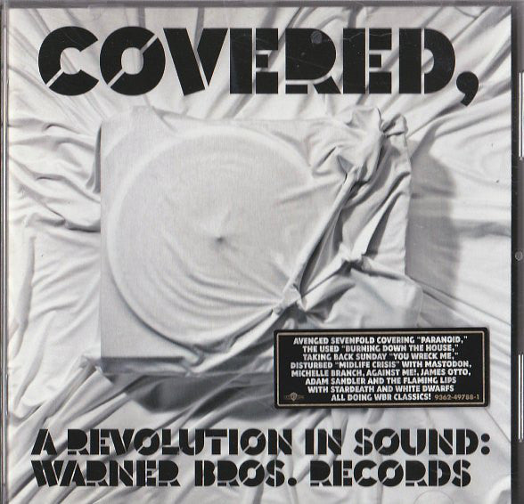 Various - Covered, A Revolution In Sound: Warner Bros. Records (CD, Comp) - USED
