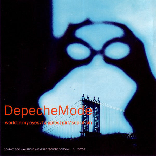 DepecheMode* - World In My Eyes / Happiest Girl / Sea Of Sin (CD, Maxi) - USED