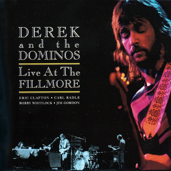 Derek and the Dominos* - Live At The Fillmore (2xCD, Album, Comp) - USED