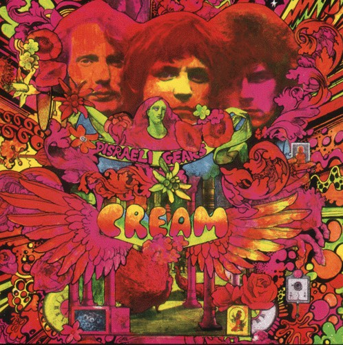 Cream (2) - Disraeli Gears (CD, Album, RE, RM) - USED