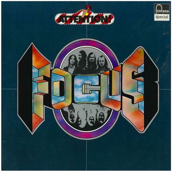 Focus (2) - Attention! Focus! (LP, Album, RE) - USED