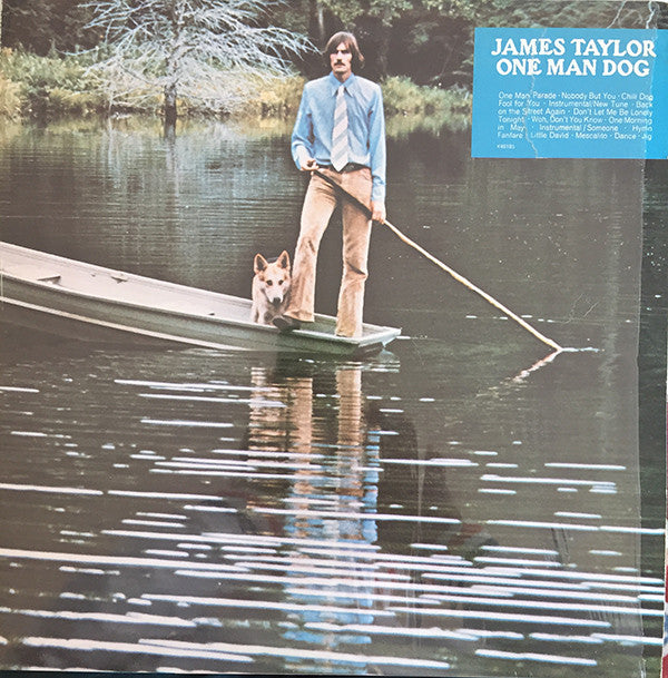 James Taylor (2) - One Man Dog (LP, Album) - USED