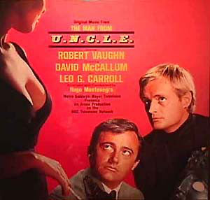 Hugo Montenegro - Original Music From The Man From U.N.C.L.E. (2xLP, Comp) - USED