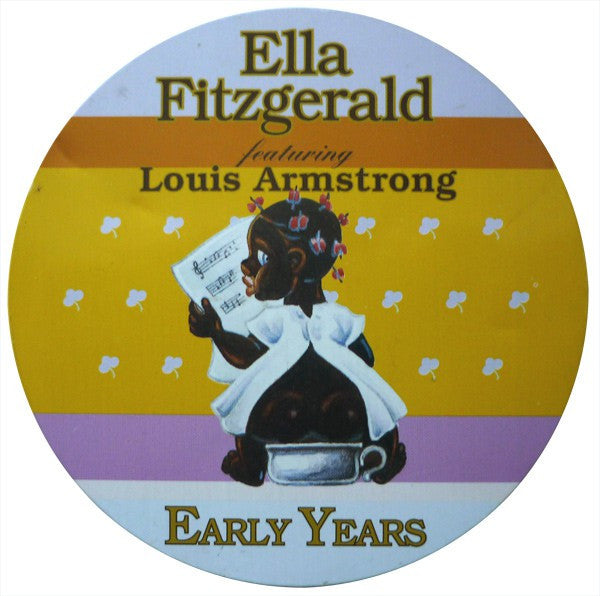 Ella Fitzgerald Featuring Louis Armstrong - Early Years (CD, Comp) - USED