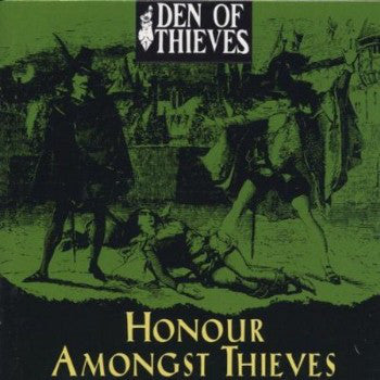 Den Of Thieves - Honour Amongst Thieves (CD, Album) - USED