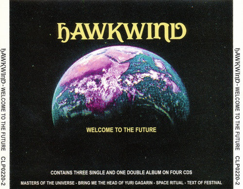 Hawkwind - Welcome To The Future (4xCD, Comp) - USED