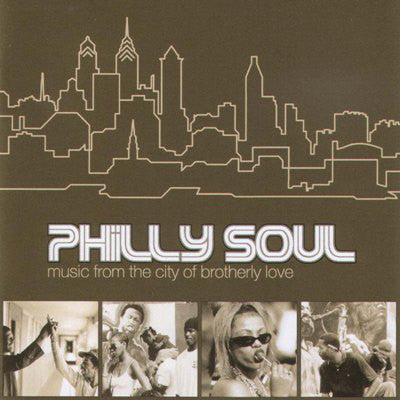 Various - Philly Soul - Music From The City Of Brotherly Love (CD, Comp) - USED