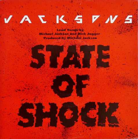"Jacksons* - State Of Shock (7"", Single) - USED"