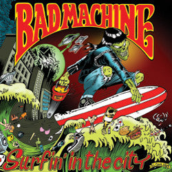 Bad Machine - Surfin' In The City (CD, Album) - NEW