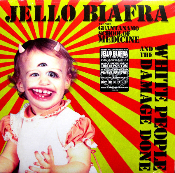 Jello Biafra And The Guantanamo School Of Medicine - White People And The Damage Done (LP, Album) - USED
