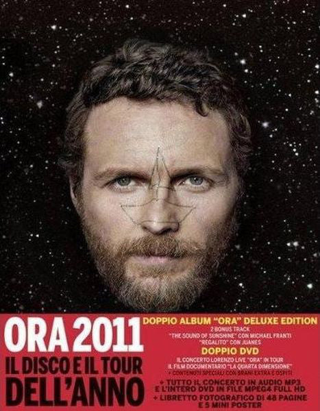 Lorenzo Jovanotti Cherubini* - Ora (Deluxe Edition) (2xCD, Album + 2xDVD-V, PAL + Box, Ltd) - USED