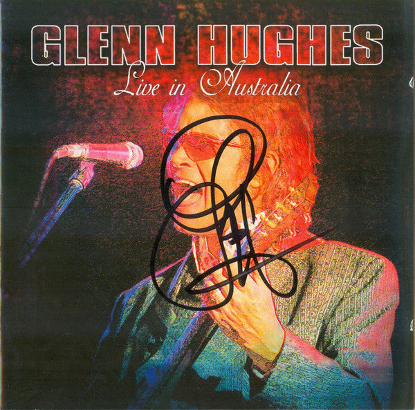Glenn Hughes - Live In Australia (CD, Album) - USED