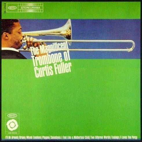 Curtis Fuller - The Magnificent Trombome Of Curtis Fuller (LP, RE) - NEW