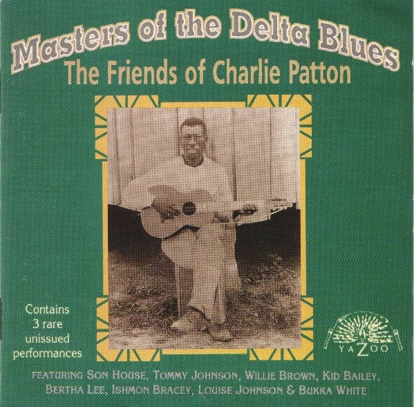 Various - Masters Of The Delta Blues - The Friends Of Charlie Patton (CD, Comp) - USED