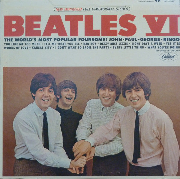 The Beatles - Beatles VI (LP, Album, RE) - USED