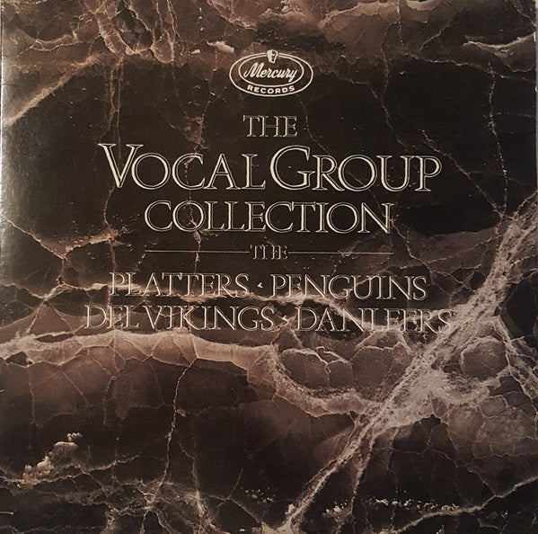 Platters* - Penguins* - Del Vikings* - Danleers* - The Vocal Group Collection (2xLP, Comp, Mono, RM, Gat) - USED