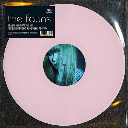 "The Fauns - Fragile/The Sun Is Cruising Remixes (12"", Single, Ltd, Pin) - NEW"
