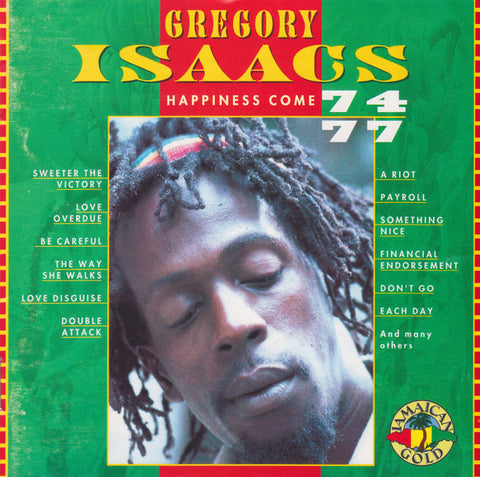 Gregory Isaacs - Happiness Come (CD, Comp) - USED