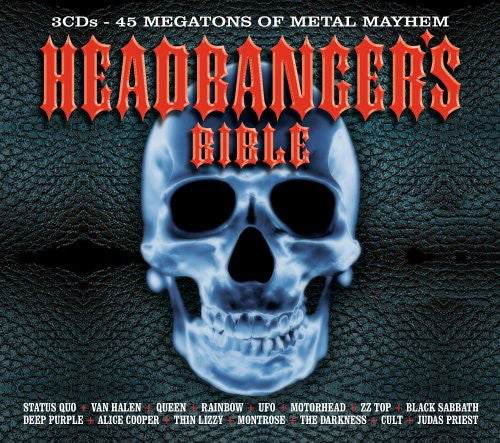 Various - Headbanger's Bible (3xCD, Comp + Box) - USED