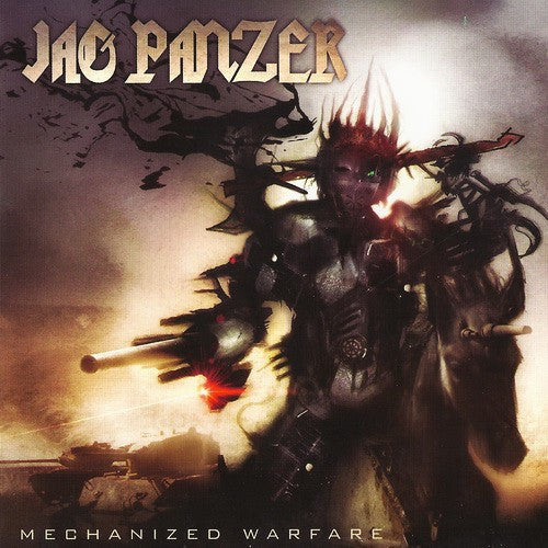 Jag Panzer - Mechanized Warfare (CD, Album, Dig) - USED