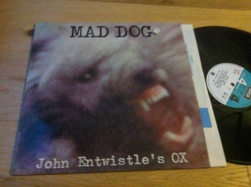 John Entwistle's Ox - Mad Dog (LP, Album) - USED